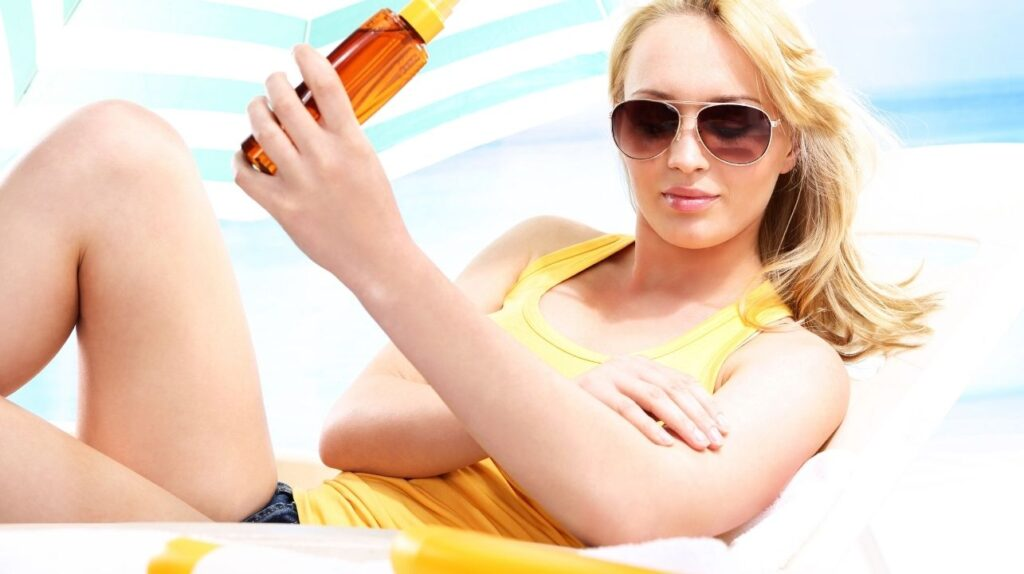 kosmetyki chroniace przed słońcem