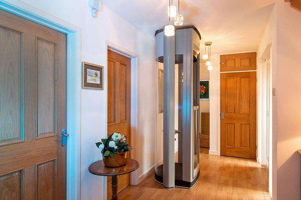 dom jednorodzinny z winda