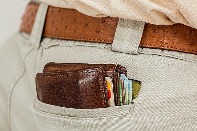 męski portfel